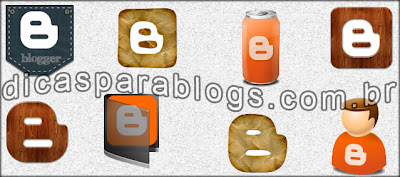 icones do blog - blogger