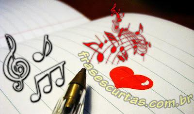 Frases e Trechos de Musicas Romanticas
