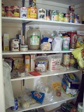 Pantry Storage Closet