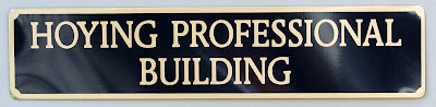 Building sign the Hoying Professional Building