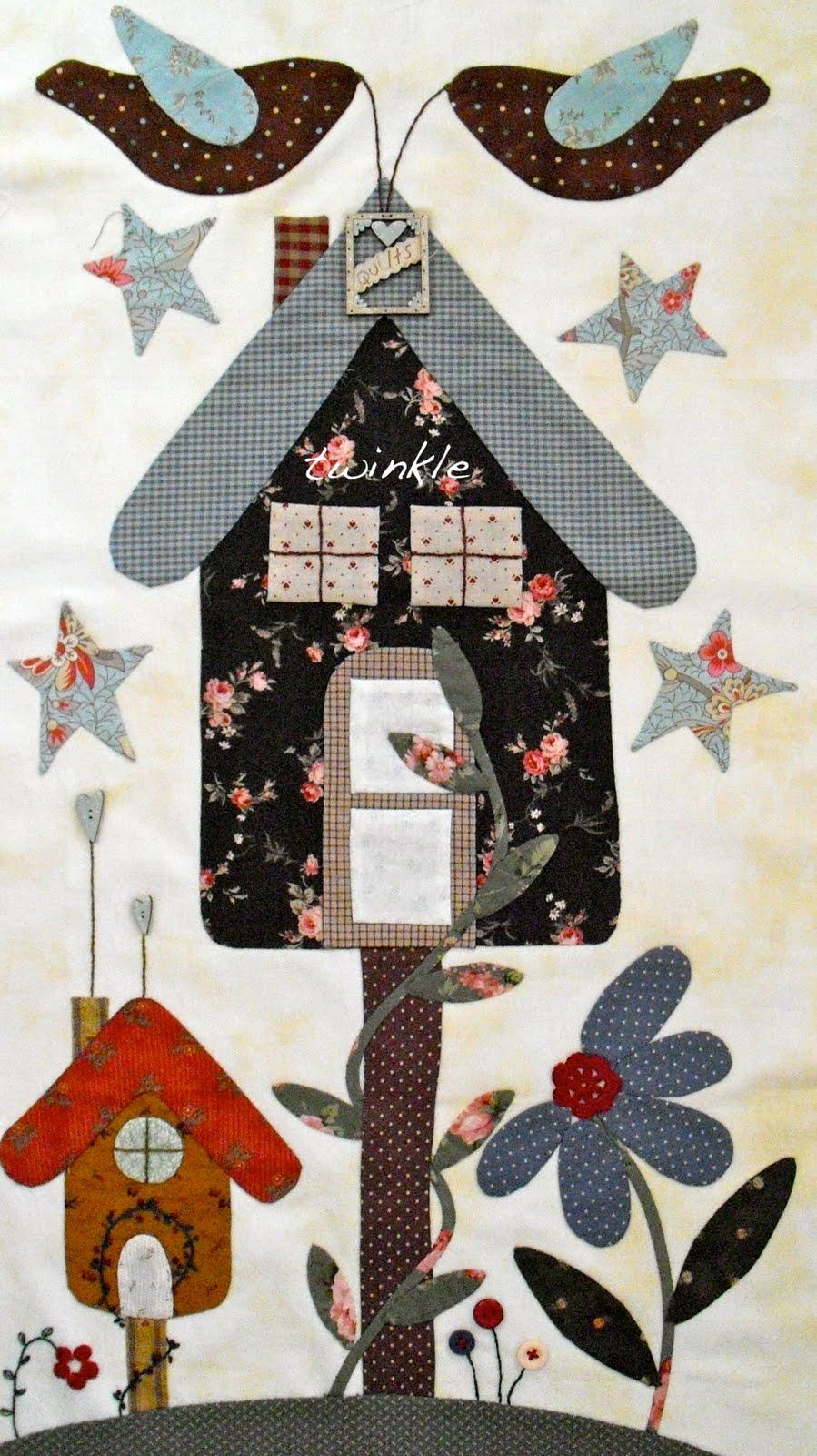Twinkle patchwork naci un beb - Casas de patchwork ...