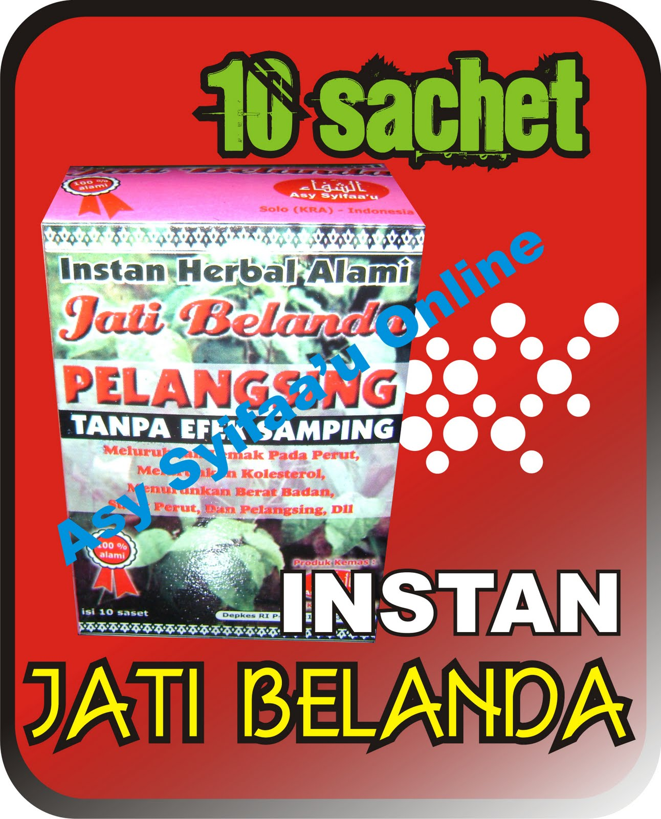 Herbal Instan Asy Syifaa'u: Herbal Instan Asy Syifaa'u