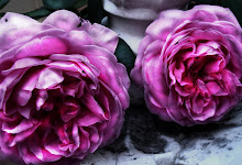 Marbled Roses I