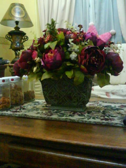 Kamar Flora My Floral Creation Hiasan Bunga Centerpiece