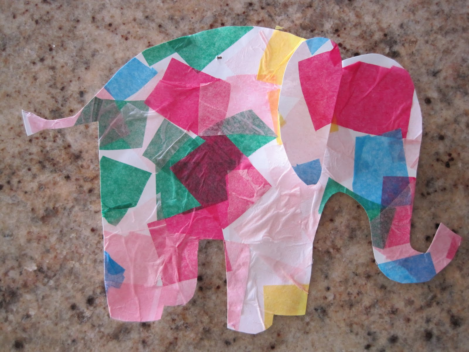 Simple Tissue Paper Crafts