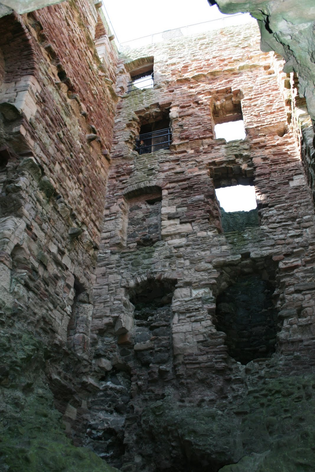 Most Convincing Real Ghost Photo shot at Tantallon Castle in Scotland