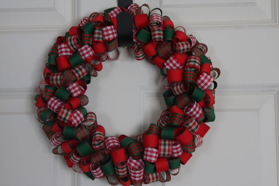 Ribbon Wreaths How To Make