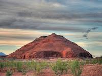 Montanha de rocha