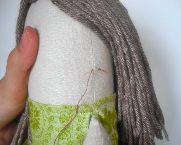 bedtime tales yarn doll hair tutorial