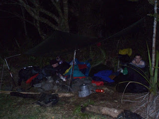 Campsite, near Mitre Flats Hut