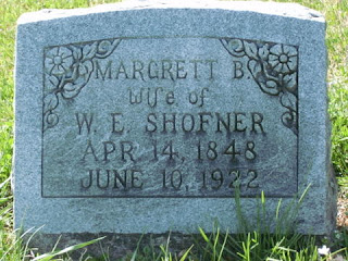 Margret Wright Shofner tombstone