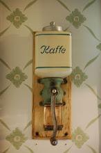 Gammal kaffekvarn