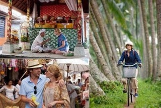 eat pray love movie location, Julia Roberts in Bali, padang padang beach