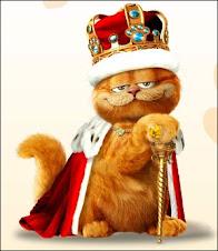 Dibujos de Garfield para colorear