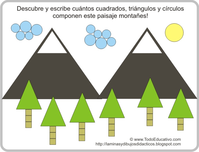 Didactic educational Prints and drawings Lmina didctica para
