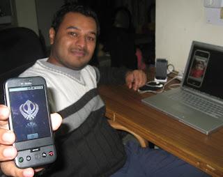 Navi showing Google G1