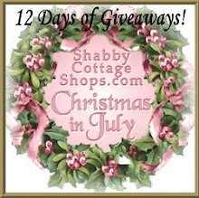 12 DAYS OF GIVEAWAYS AT SHABBY COTTAGE SHOPS, JOIN US!!