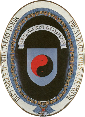 Escudo heráldico de Niels Bohr