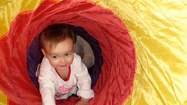 Fun in my tunnel!