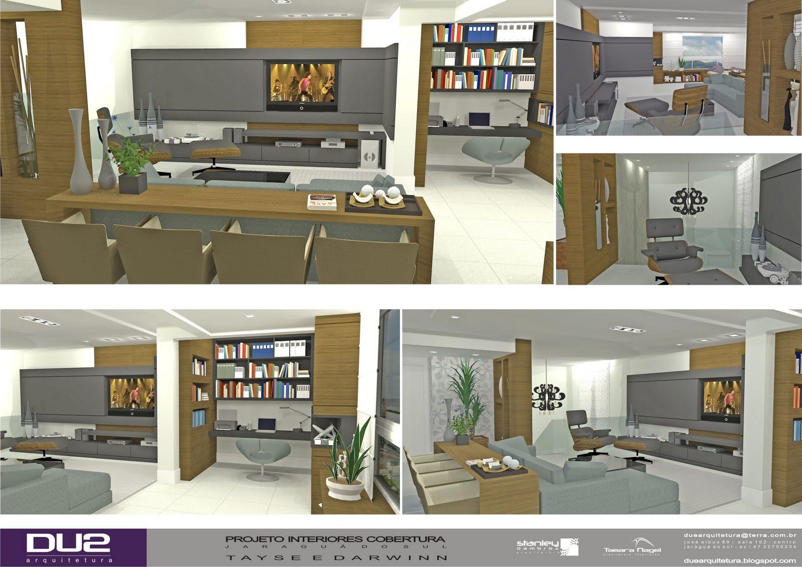 Amado DUE ARQUITETURA: Projeto Interiores Duplex - Parte II ME33