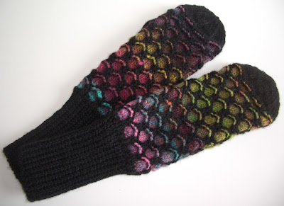 FREE KNITTING PATTERN FOR NEWFIE MITTENS   KNITTING PATTERN