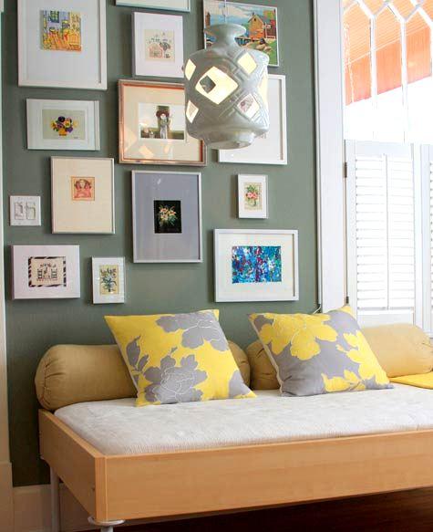Yellow and Gray Walls