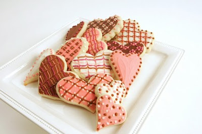 sugar cookie heart valentine