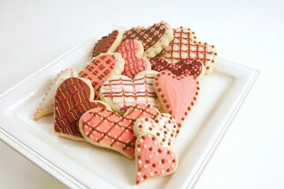 sugar cookie heart valentine