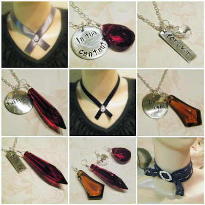 twilight new moon inspired jewelry alice cullen choker necklace