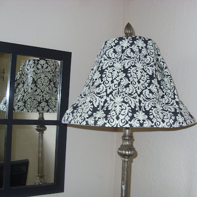 Little lovables damask lampshade slipcover how to damask lampshade slipcover how to mozeypictures Gallery