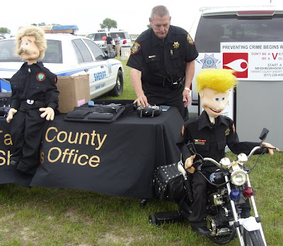motorcycle police puppet motorized remote control huge professional