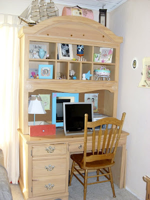 craigslist hutch display desk