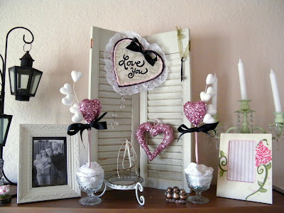 valentine valentines party decoration decor mantle