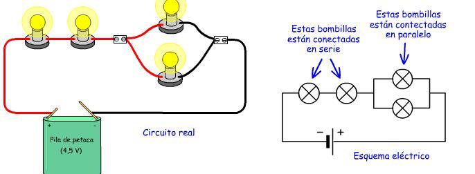 Circuito Que Tenga Un Interruptor Una Pila Y Una Bombilla : La electricidad cuestonario sobre conexiÓn mixta o serie