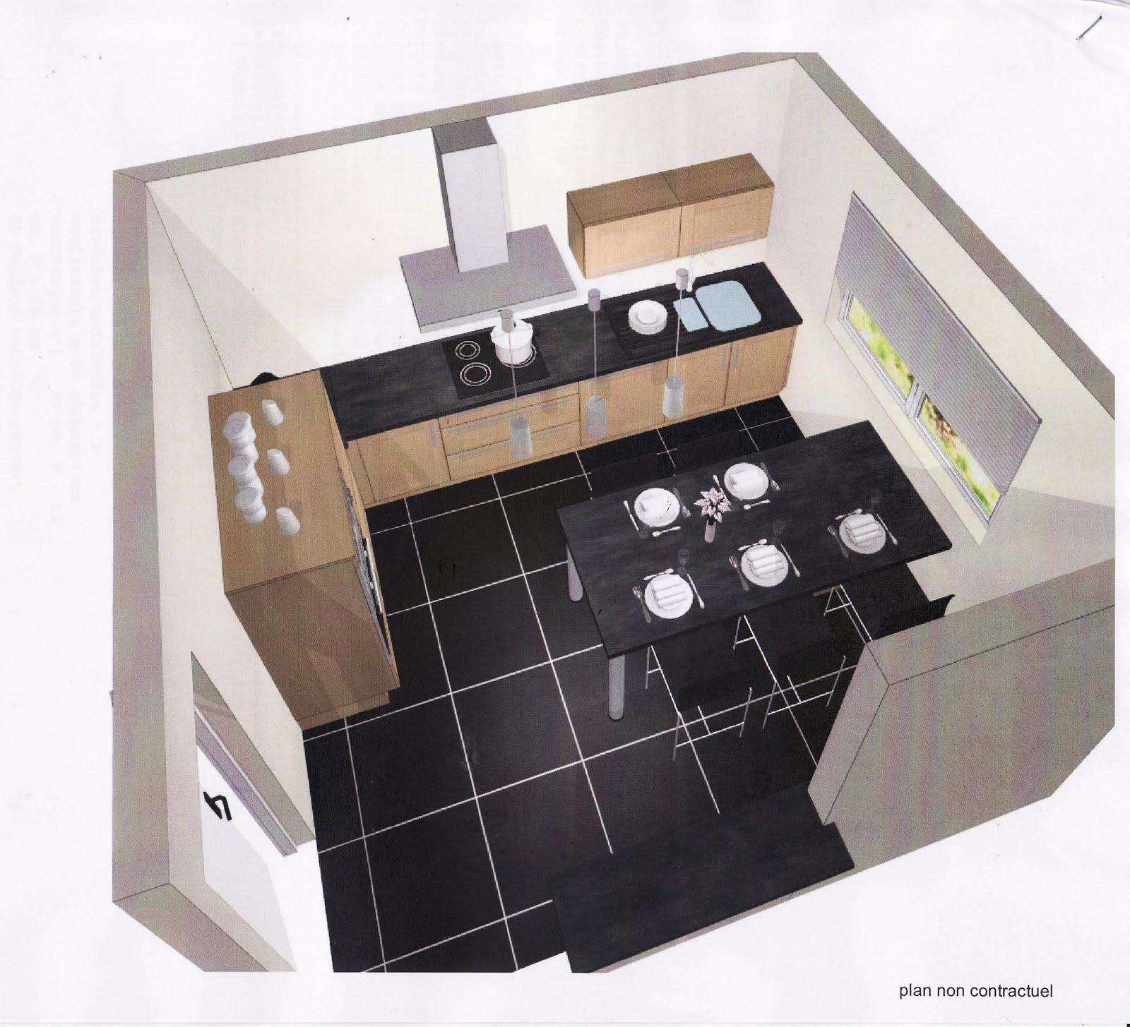 Autoconstruction de notre maison projet cuisine for Pub cuisine mobalpa