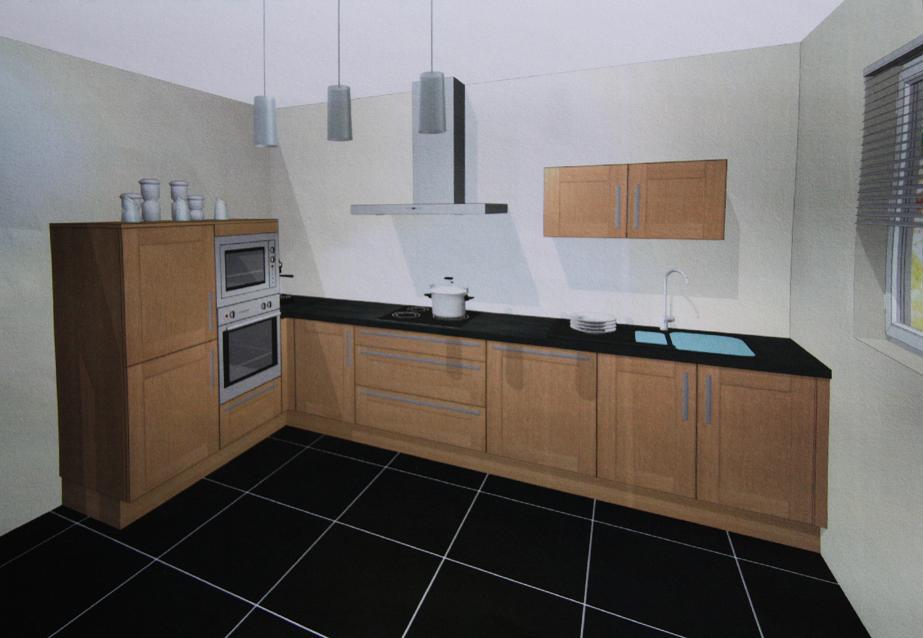Autoconstruction de notre maison cuisine sign e - Meuble cuisine lave vaisselle ...