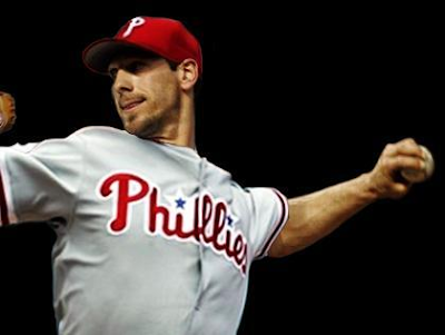 cliff lee phillies catch. hairstyles wallpaper Cliff Lee