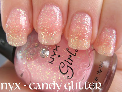NYX glitter nail polish haul swatches