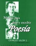 PORTADA DEL MANUAL PARA LEER Y ESCRIBIR POESÍA.