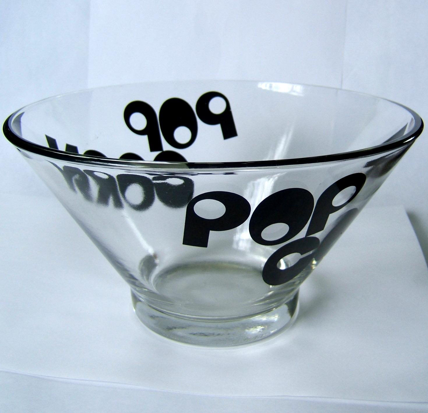 Vintage Popcorn Bowl 94