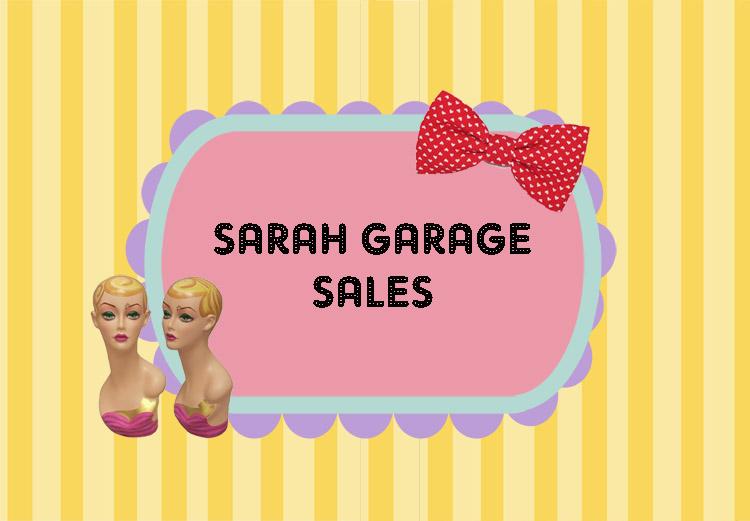 Sarah's Garage Sale