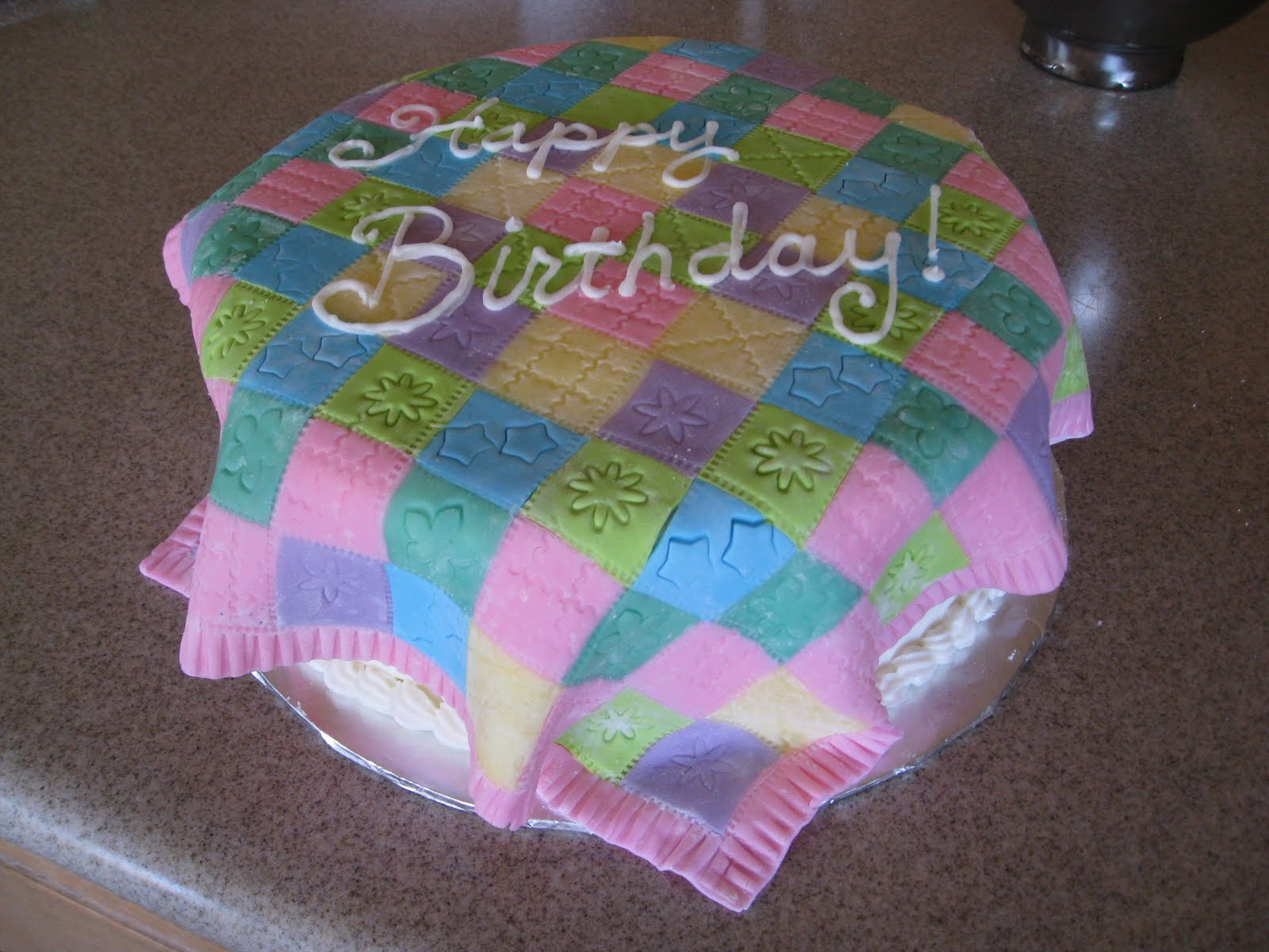 Quilting Cake Designs : Quilt In A Cake Ideas and Designs
