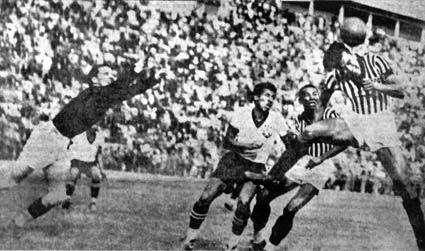 Estádio do Pacaembu 1940 - SPFC x Corinthians