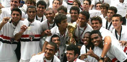 São Paulo é tricampeão da Copa São Paulo de Futebol Júnior