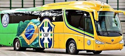 Frases dos ônibus das seleções na Copa de 2010