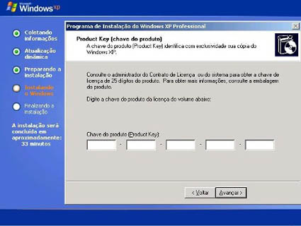 Instalar o Windows XP