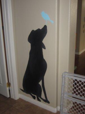 [doggie+chalkboard]
