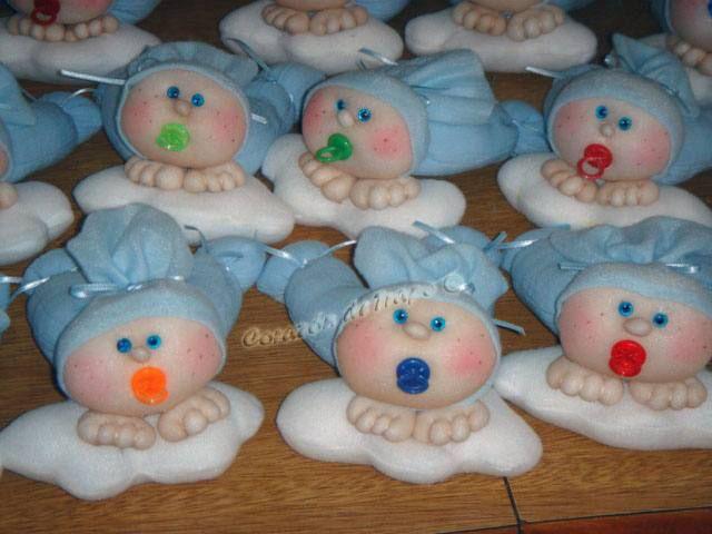 Souvenirs nacimiento pepones nenes