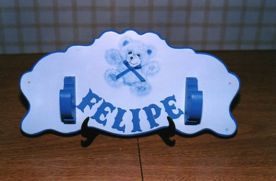 Deco infantil perchero