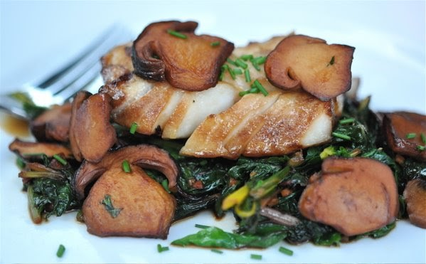 Grilled Porcini Mushrooms With Mint And Garlic Recipe — Dishmaps